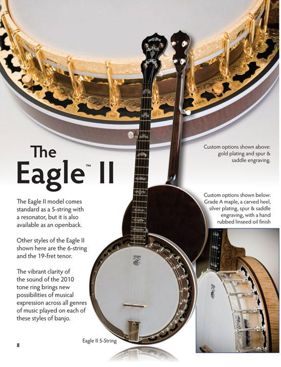 The Eagle II Banjo Described in Deering Catalogue