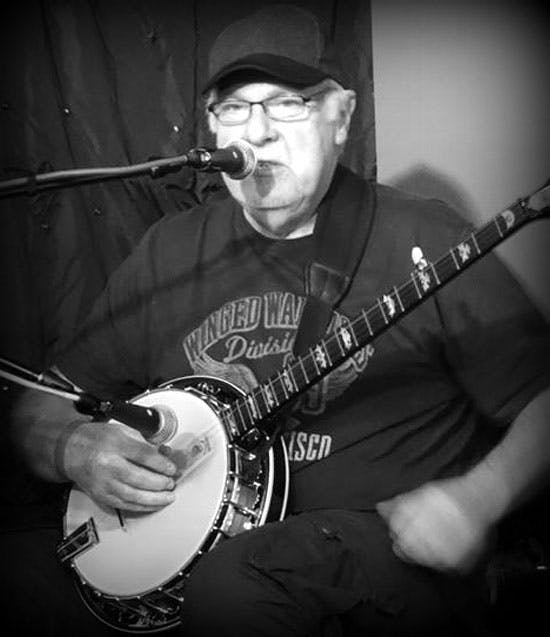 Joe mac at the banjo Eagle Music event with the Deerings Kruger Brothers, Jig Jam, Pat Kelleher