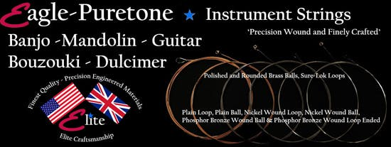 Eagle-Puretone long neck banjo