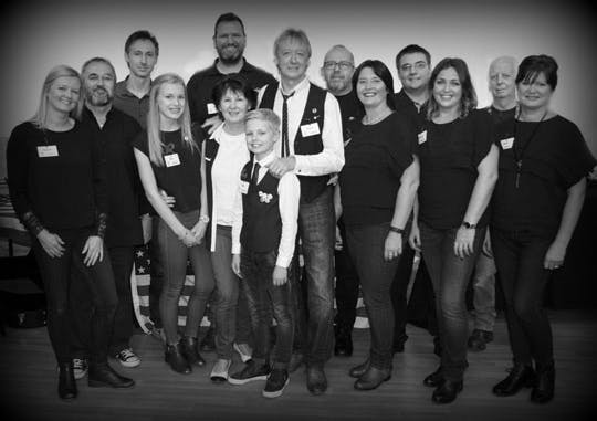Eagle Music Team at Banjo 12 2019 The North Light Gallery Huddersfield