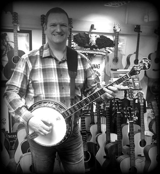 Matt at Banjo 12