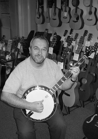 Graham Holt Banjo Workshop