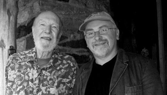 Pat Kelleher and Pete Seeger