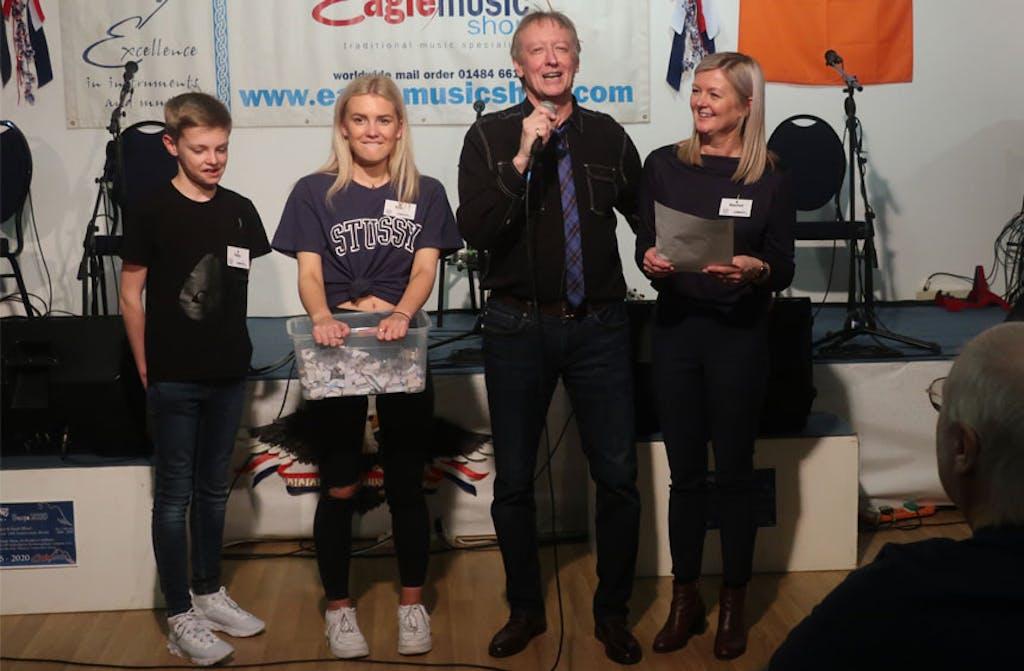Raffle winners Banjo 2020 Eagle Deering