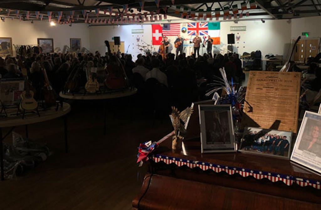Tilterwheel at Eagle Deering Banjo 2020