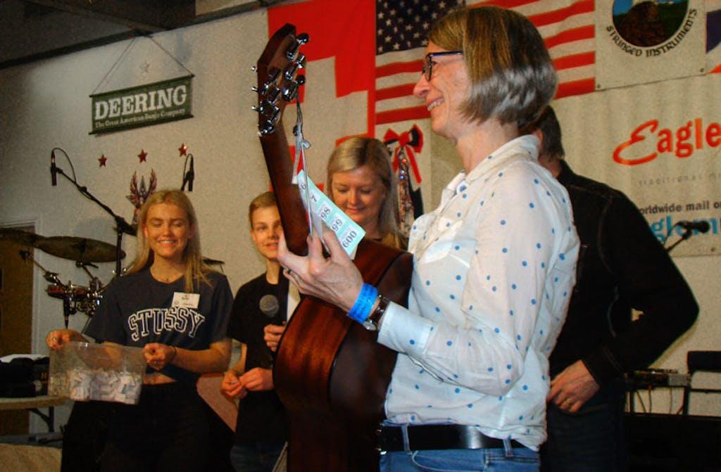 First Prize Raffle winne Banjo 2020